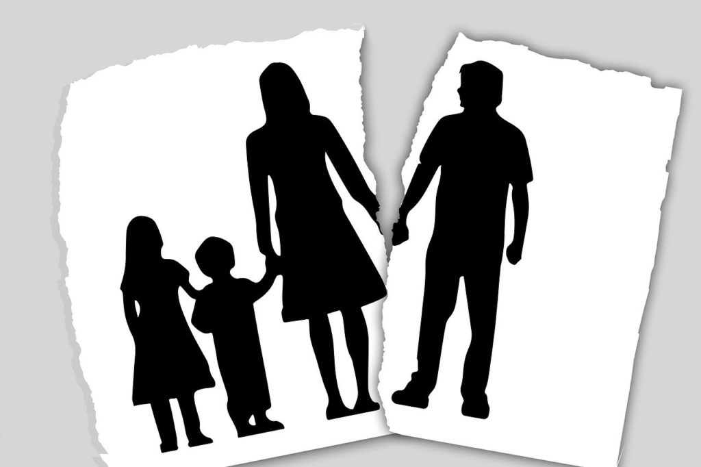 family, divorce, separation